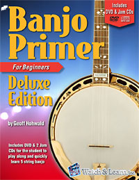 5 Str Banjo Primer Book & DVD The most complete 5 string banjo method by Goeff Hohwald