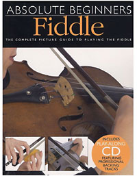 Absolute Beginners Fiddle Book & CD, complete picture guide to playing the Uke