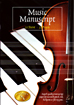 Music Manuscript Book 12 Stave with 32 pages of music manuscript paper.
