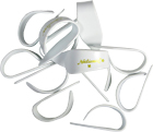 National White Medium Thumbpick.12 Pack Pack of 12, Medium size, high quality picks.