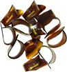 National Faux-Tortoise L Thumbpick. 12 Pack of 12, Large faux-tortoise shell thumbpick.
