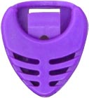 Viking Pick Holder, Purple Coloured Plectrum holder in Purple. Attaches to instrument