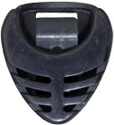 Viking Pick Holder, Black Coloured Plectrum holder in Black. Attaches to instrument