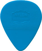 Herdim Blue Nylon Pick. 88mm Heavy gauge quality Nylon guitar pick. Stamped with West Germany