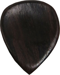 Viking Tamarind Guitar Pick. Warm fat tonal attack.