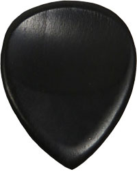 Ashbury Ebony Guitar Pick Distinctive ebony tone and feel.