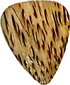 Timber Tones Coconut Palm Single Pick Ideal for Acoustic Guitar.