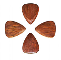 Timber Tones Ironwood Single Pick Ideal for Electric Guitar, Acoustic Guitar & Archtop Jazz Guitar.