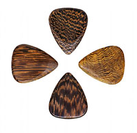 Timber Tones Thai Cassia Single Pick Ideal for Acoustic Guitar & Archtop Jazz Guitar.