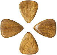Timber Tones Rose Apple Single Pick Ideal for Acoustic Guitar & Archtop Jazz Guitar.