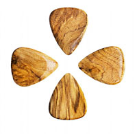 Timber Tones Sugar Maple Single Pick Ideal for Acoustic Guitar & Archtop Jazz Guitar.