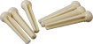 Golden Gate Cream Guitar Bridge Pins Ivory coloured plastic, set of 6 bridge pins for Acoustic Guitar.