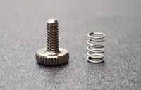 Shubb Replacement Thumbscrew/spring For Shubb 5th string capo