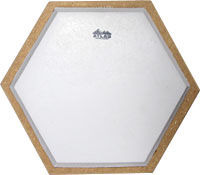 Atlas Hex Practice Drum Pad A 17.5cm table top practice drum pad