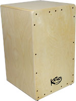 The Katho One Cajon A new low cost Spanish made Cajon. Birch faceplate