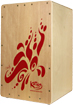 Katho Fiesta Cajon A new low cost Spanish made Cajon. Pine faceplate with red design