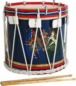 Atlas Military Style Side Drum, 14