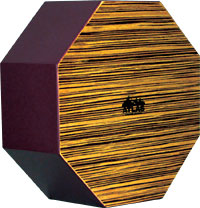 Atlas AC-05 Snare Cajon Octagonal 12inch wooden percussion box