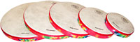 Rhythm Carnival Hand Drum Set Set of 5 drums 6