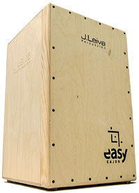 Leiva Easy Cajon travel kit - 2 DTS  100% Russian 3mm Siberian Spruce Tapas