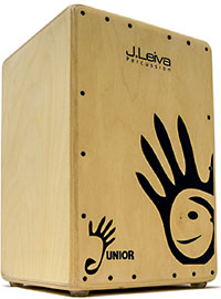 Leiva Cajon Musical Omeya Mini, w.Bag 100% Russian 3mm Siberian Spruce Tapas