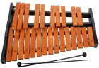 Atlas 25 note Xylophone 2 octaves from G to G. Light brown coloured tone bars