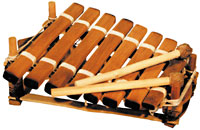 Kambala Balaphon 8 Key c5-c6 Hardwood Keys Tuned and carved