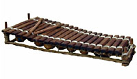 Kambala Balaphon 20 key Hardwood Keys Tuned and carved