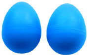Atlas Pair of Shaky Eggs, Blue Pair of plastic 50g shaky eggs. Fun, portable percussion!