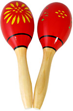 Atlas Wooden Maracas, 9