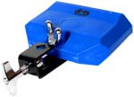 Atlas Small Plastic Tone Block, Blue High pitch blue mountable tone block.