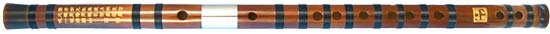 Atlas Dizi Bamboo Flute in G Traditional Chinese flute with membrane hole between blowhole and finger holes