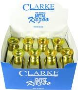 Clarke Gold colour Metal Kazoo, Box Gold coloured Kazoo, boxed in 24s.