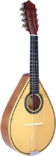 Carvalho Mandolin, Solid Spruce Top Solid Sapele body, curved fingerboard, pear shape body