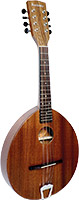 Ashbury Army Navy Style Mandolin Solid sapele top, back and sides.