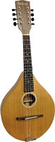 Ashbury A Style Mandolin, Solid Cedar Solid cedar top, solid sapele back and sides.