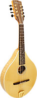Ashbury A Style Mandolin, Solid Spruce Solid spruce top, solid curly maple back and sides. Gloss finish.