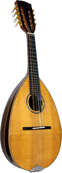 Ashbury Bowl Back Mandolin Solid spruce top with 11 rosewood ribs. Maple binding and rib strips.