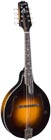 Kentucky A Style Bluegrass Mandolin A-style body with F soundholes. Solid carved Adirondack spruce top