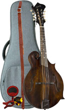 Kentucky F Style Mandolin Pack Includes Mandolin, Premium Gig Bag, Tuner, Strap and Mandolin Picks