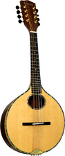 Ashbury Iona Mandolin Solid spruce top, solid Senna Siamea body. Onion shaped body.