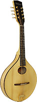 Ashbury Carved A Style Mandolin MK2 Carved Solid Swiss Alpine Spruce top and carved Solid Sycamore Maple back