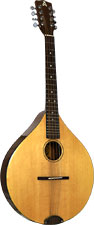 Ashbury Octave Mandola Solid Alaskan Sitka Spruce top, solid sapele body, designed by Phil Davidson.
