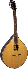 Ashbury Octave Mandola Solid Alaskan spruce top, solid rosewood back and sides.