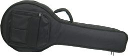 Viking Deluxe Tenor Mandola bag Tough 600D black nylon outer with 20mm padding. Plush red lining.