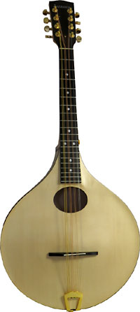 Ashbury Carved Octave Mandola MK2 Carved Solid Swiss Alpine Spruce top and carved Sycamore Maple back