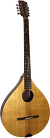 Ashbury Rathlin Irish Bouzouki Solid spruce top with walnut back and sides. Mahogany neck, hardwood fingerboard