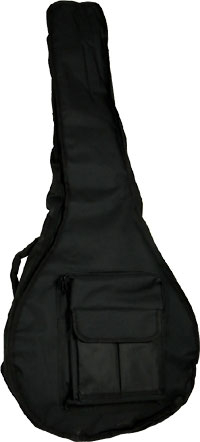 Viking Deluxe Large Bouzouki Bag Tough black nylon outer with 20mm padding.