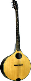 Ashbury Iona Irish Bouzouki Onion shaped body. Solid spruce top, solid rosewood back and sides..