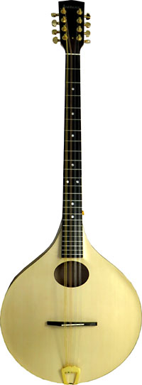 Ashbury Carved Irish Bouzouki MK2 Carved Solid Swiss Alpine Spruce top and carved Sycamore Maple back